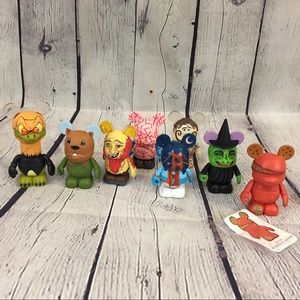 Lot of 8 Disney Parks Vinylmation Figures